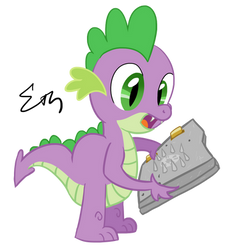 Spikey with a Spikey Book by Sigmath-Bits