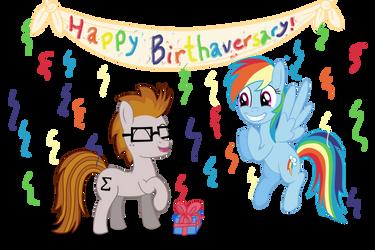 Rainbow Dash's Birthday Bash by Sigmath-Bits