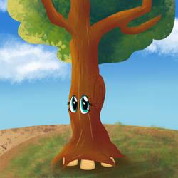 I'd like to be a tree