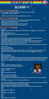 Nyan Cat Scarf Pattern