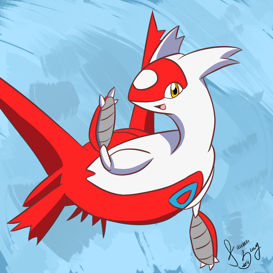 Chibi Latios And Latias