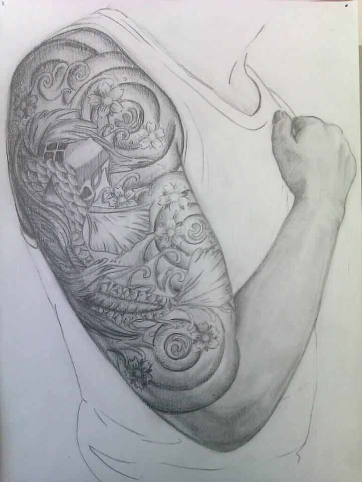 Japanese style tatto