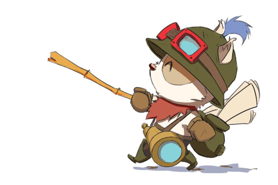 Teemo by Nishime-kun