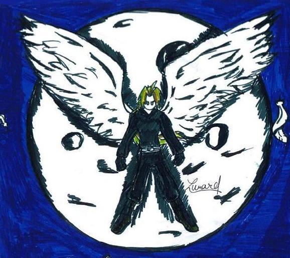 Darck Angel by Lunard-Wolf