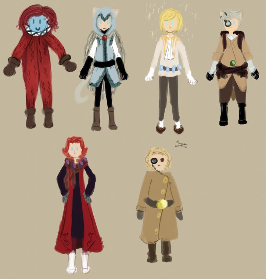 SSSS studio Ghibli AU by frenci97xp