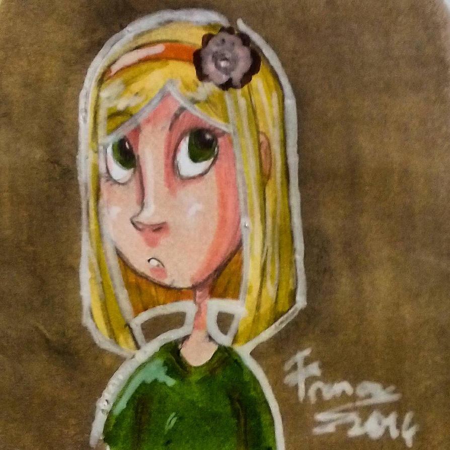 random blondy by frenciDA