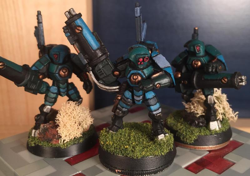 Stealth suit squad by Jaxler