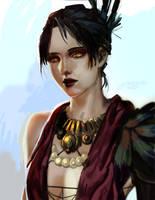 Morrigan by orientalowl