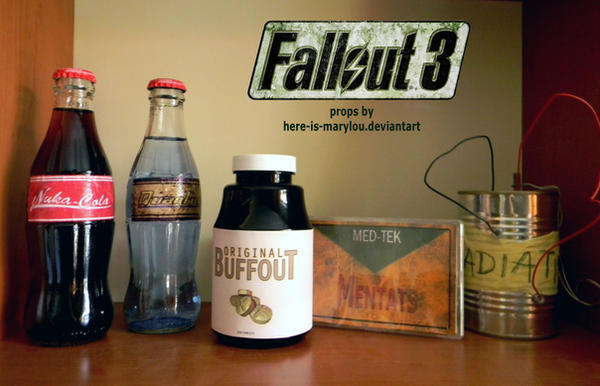 Fallout 3 props by Here-is-MaryLou