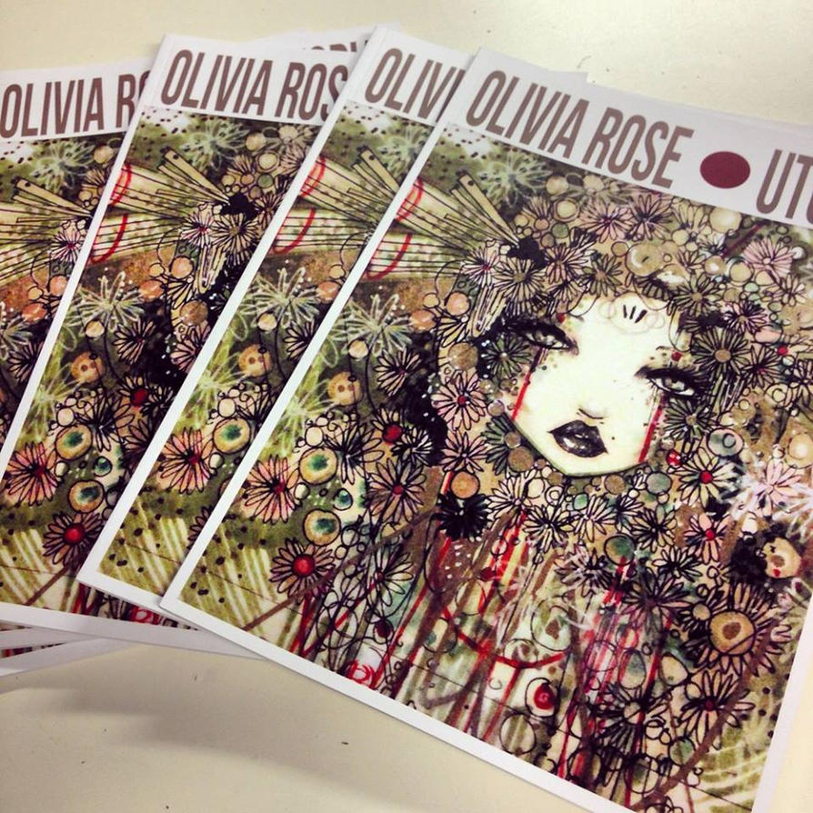 OLIVIA ROSE UTOPIA A4 BOOK by lalalandofclouds