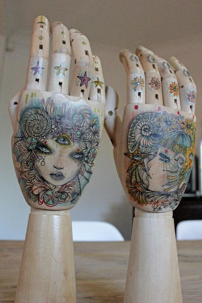 Mermaid keepers hands x2 by lalalandofclouds