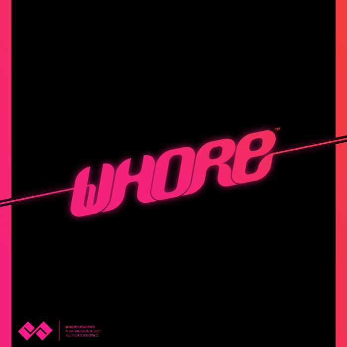Whore Logotype by Shokubo