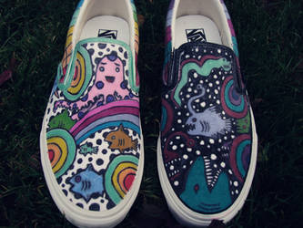 Nicks shoes by AquaTigerFire