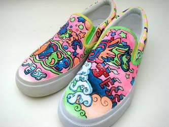 Jess's Shoes by AquaTigerFire