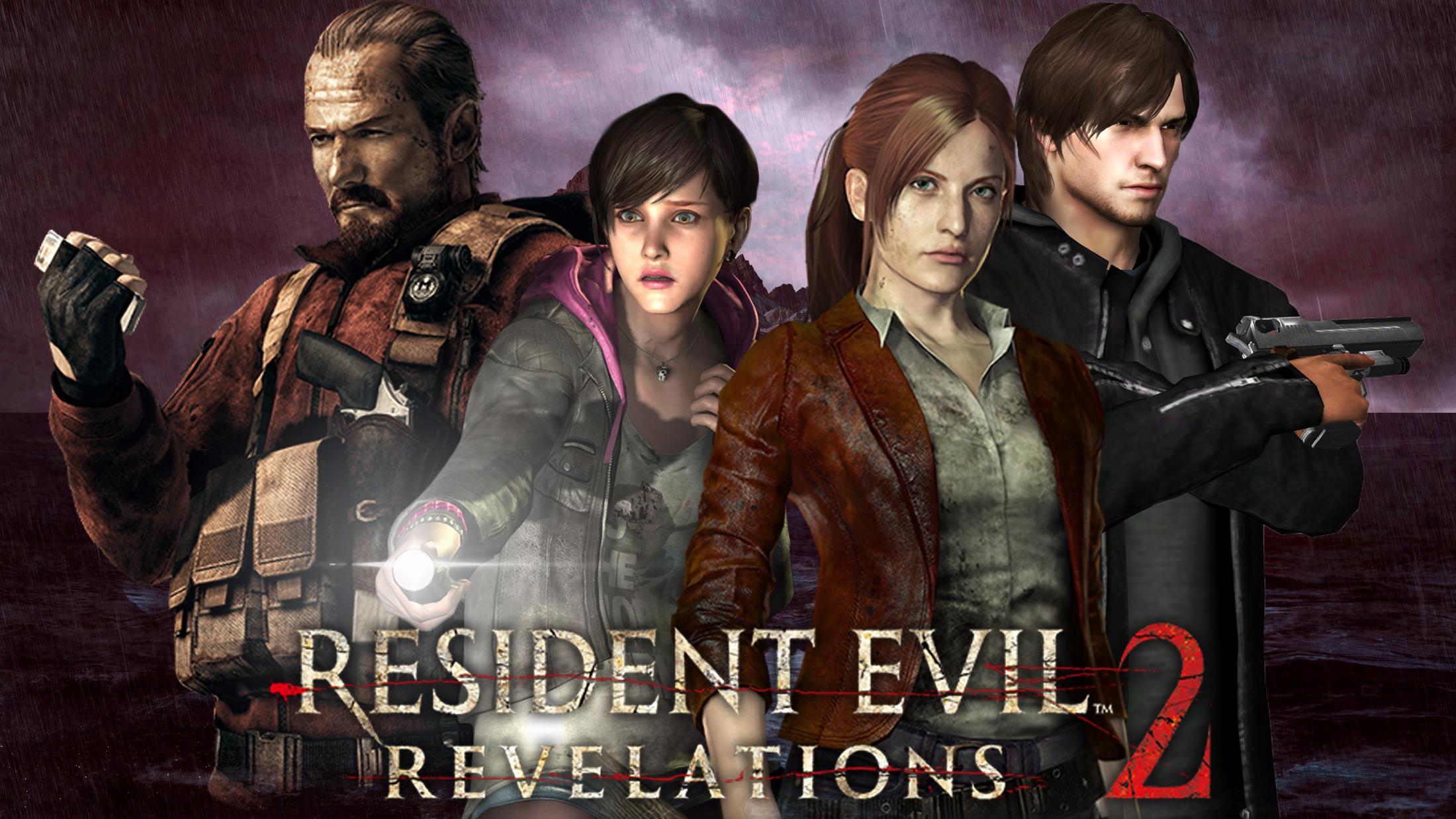 Resident Evil Revelations 2 Wallpaper By Refanboy2012 On Deviantart