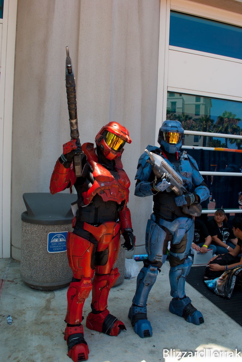 CC10 - Red vs Blue by BlizzardTerrak