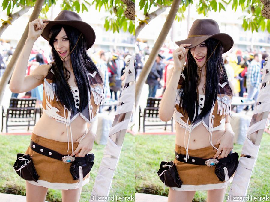 ALA12 - Cowgirl Tifa by BlizzardTerrak