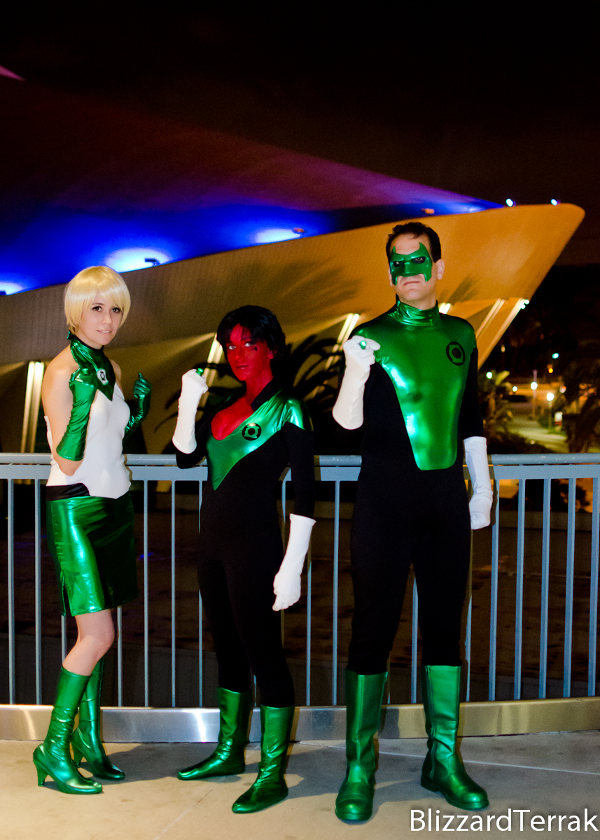 W12 - Green Lantern Corps by BlizzardTerrak