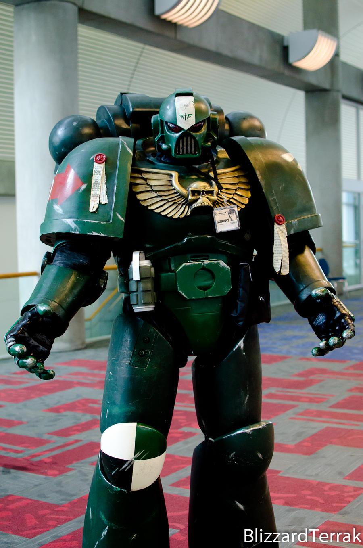 F12 - Space Marine by BlizzardTerrak