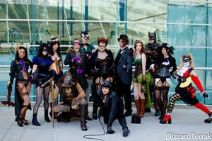 CC12 - Steampunk DC Universe by BlizzardTerrak