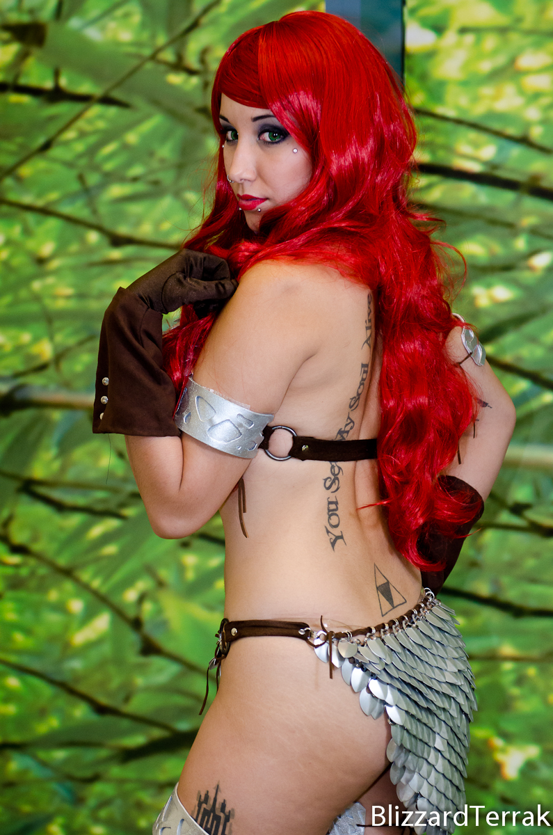 BW13 - Red Sonja by BlizzardTerrak