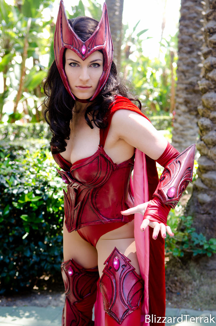 WC14 - Armored Scarlet Witch by BlizzardTerrak