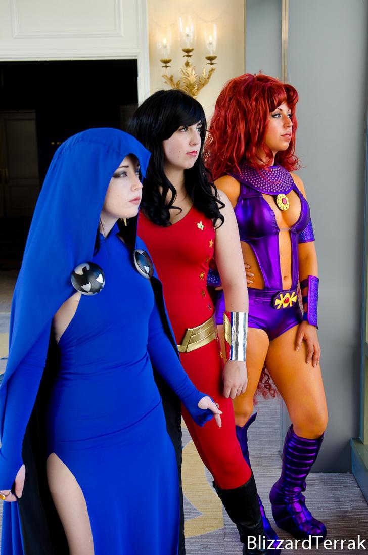 F14 - Teen Titans By Blizzardterrak On Deviantart-1299