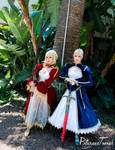 AX17 - Red and Blue Sabers