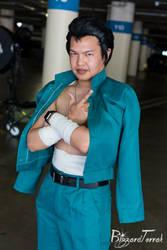 AX18 - Yusuke Urameshi by BlizzardTerrak