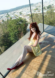PS18 - Asuka Sundress by BlizzardTerrak