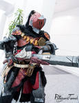 ALA19 - Monster Hunter armor and Karma by BlizzardTerrak
