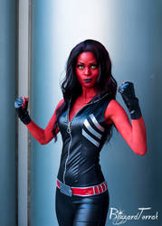 WC19 - Red She-Hulk by BlizzardTerrak