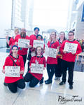 SWCC19 - Red Shirts at Star Wars Celebration 2019 by BlizzardTerrak