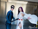 SVCC19 - Nightwing and Raven by BlizzardTerrak