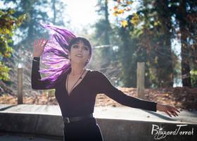 PS19 - Purple Hair Flip