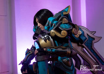 ALA2020 - Qinglong Pharah by BlizzardTerrak