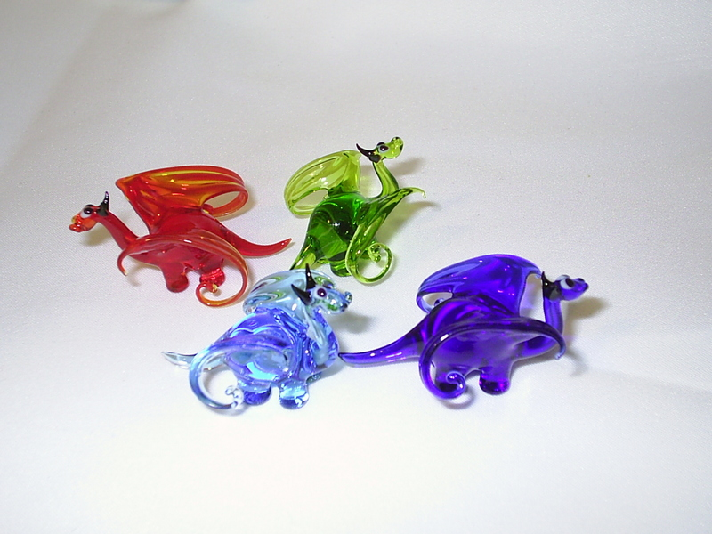 Mini Dragon by Glasmagie