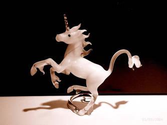 Unicorn foal by Glasmagie