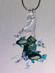 Fish Pendant by Glasmagie