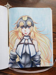Fate - Jeanne d'arc  by Vesturr