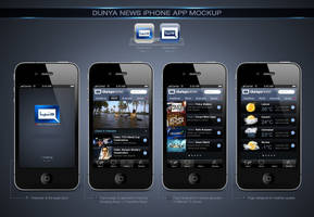Dunya News iPhone App by aliather