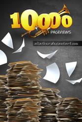 10000 Page Views