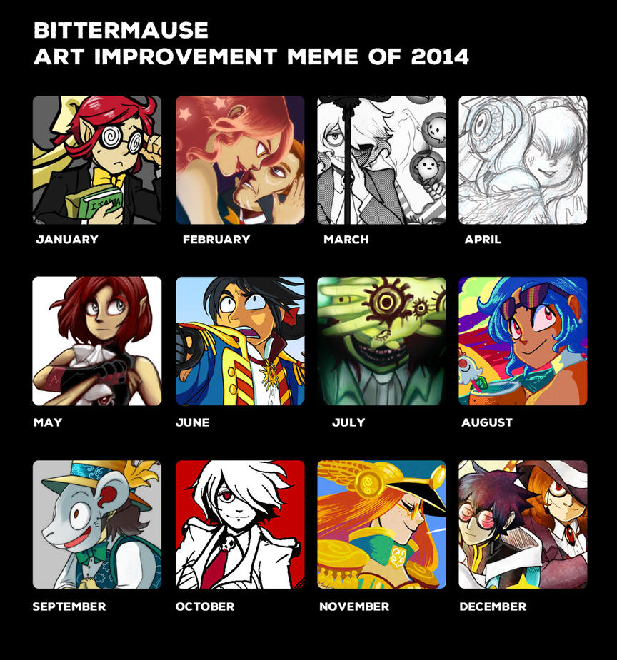 ART -IMPROVEMENT- OF 2014 by bittermause