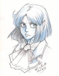 Bust Sketch - Eliza