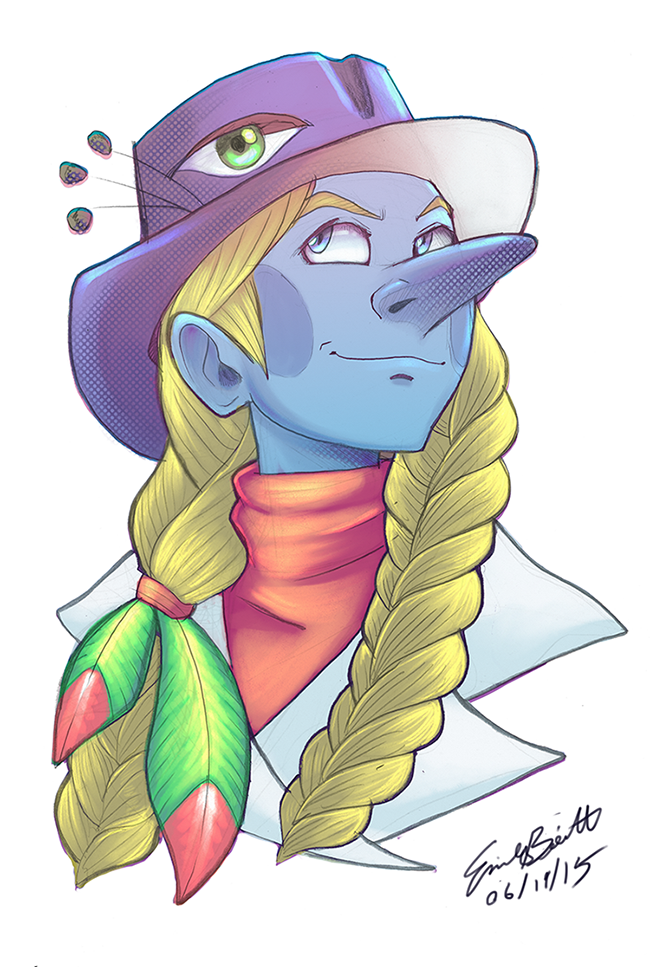 Bust Portrait - Marymont by bittermause