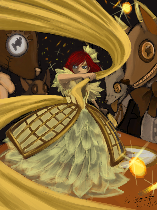 A Golden Dance by bittermause