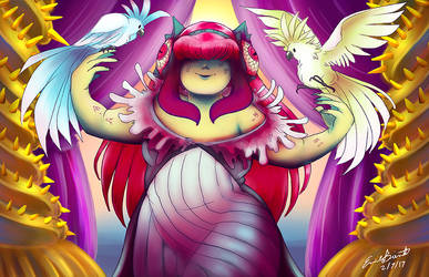 Scylla and her birds