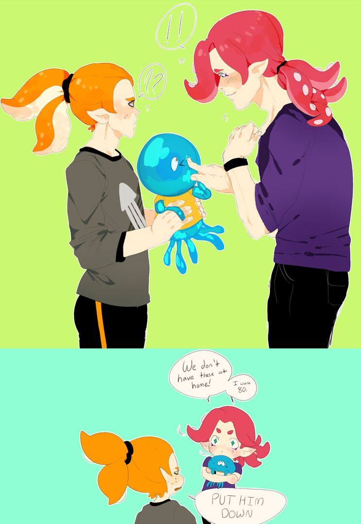 Splatoon Jellyfish By Comboni On Deviantart