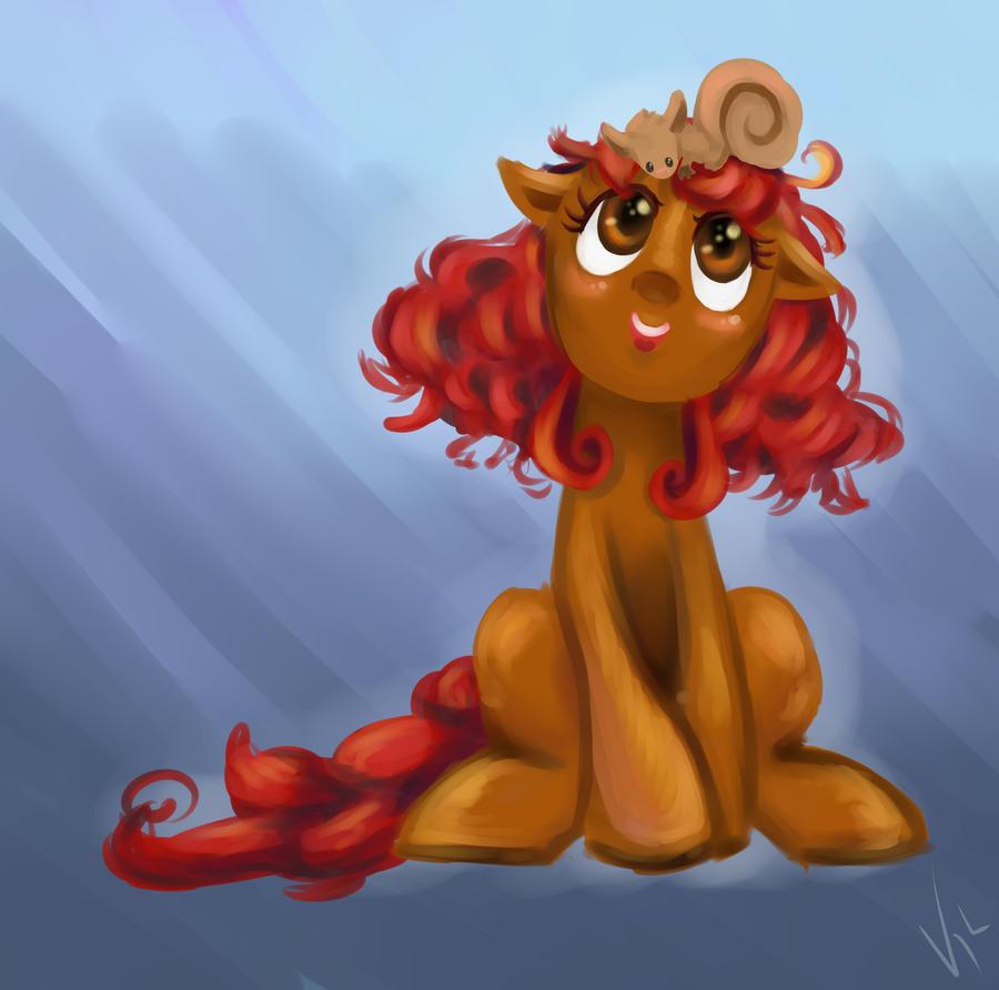 {SpeedPaint} Ashlyn Pony by Vivifx
