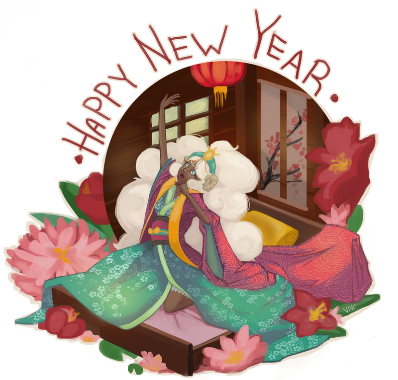 Happy New Year! by Vivifx